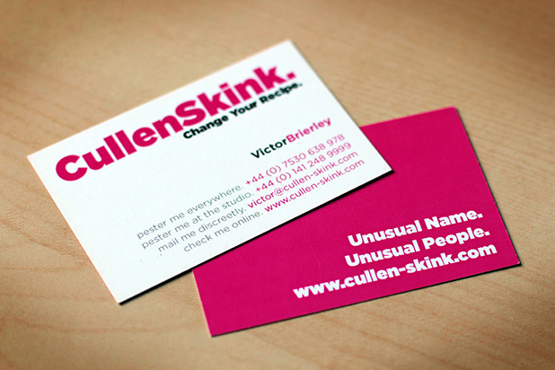 Cullenksink logo and website design cullenskink website design cullenskink business cards reheart Image collections